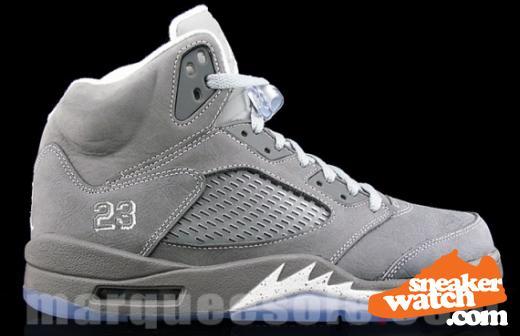 "new product fa6ff 6bd49 Air Jordan 5 ""Wolf Grey"" set to release… | A.M. Caffeine"