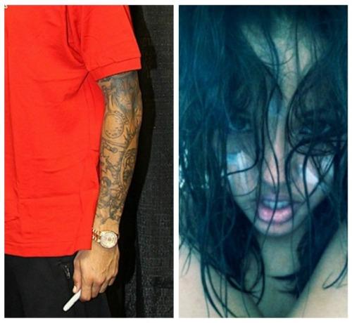 Chris-Brown-Karrueche-tattoo