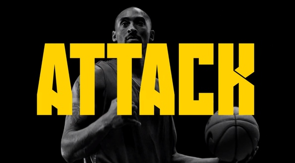 new photos 425e7 37dd6 Kanye West in new Kobe Nike commercial…