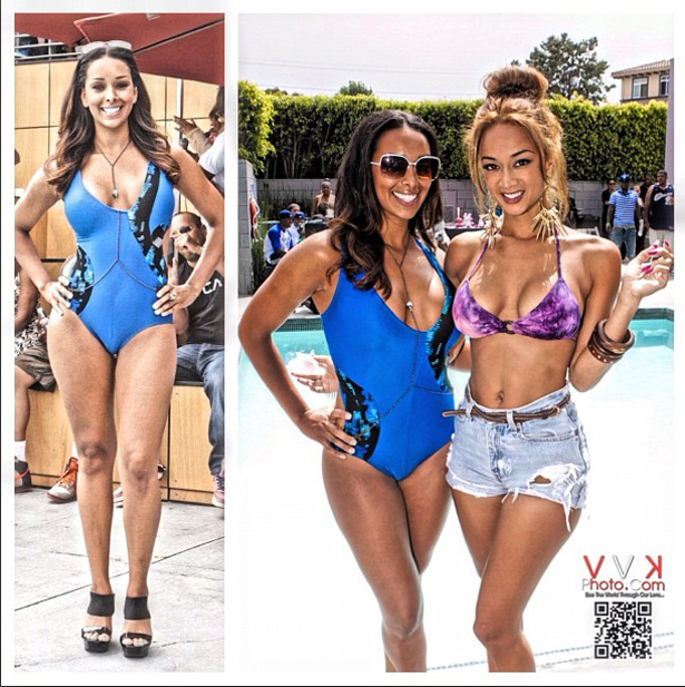 Basketball Wives La Cast Show Off Their Bikini Bodies A M Caffeine