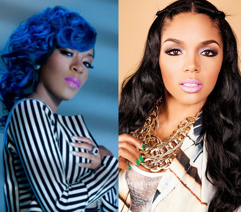 K-michelle-ans-rasheeda K Michelle And Rasheeda