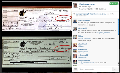 floyd responds to 50 cent