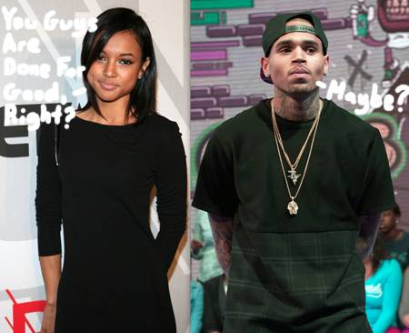 karrueche-tran breaks up with chris brown